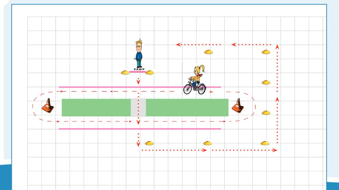 Afbeelding Verkeerskunsten gr. 1 en 2 - Lopen en oversteken les 3